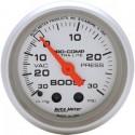 Autometer 4303 Medidor Turbo presión - vacio Ultralite 4303