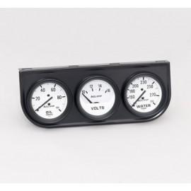 Consola triple Autometer serie Autogage