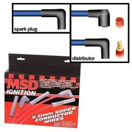 Cables de Bujías MSD para 8 Cilindros