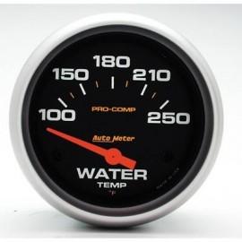 Autometer Medidor temperatura de Agua Pro Comp