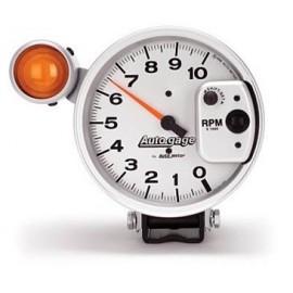 """Tacometro Autometer Autogage 5"""" Color Gris"""
