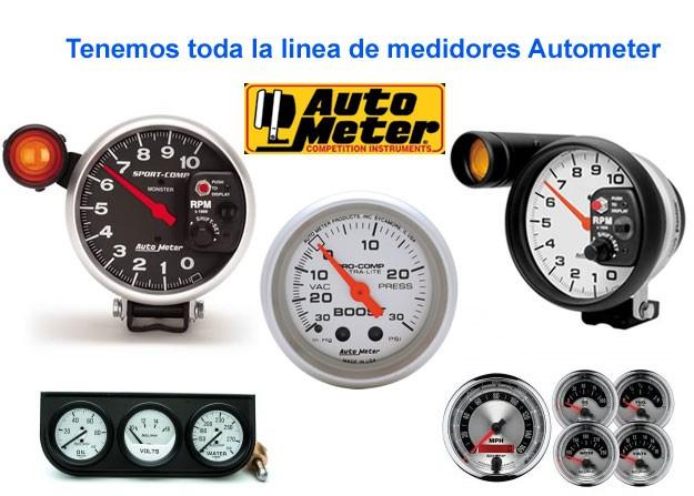 Medidores Autometer